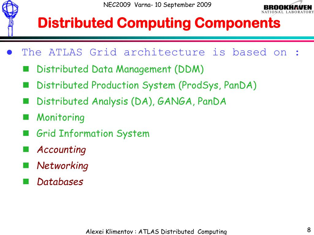Distributed Computing Components