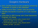 google s hardware