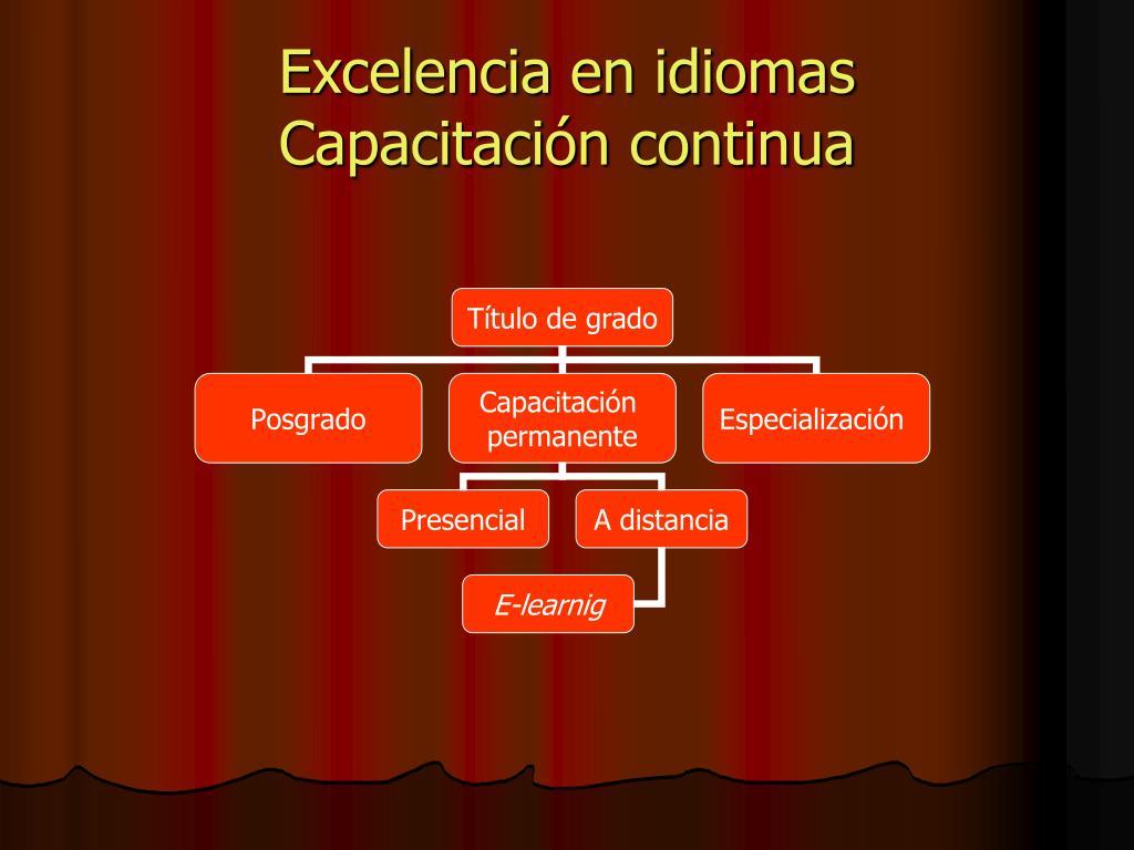 Excelencia en idiomas