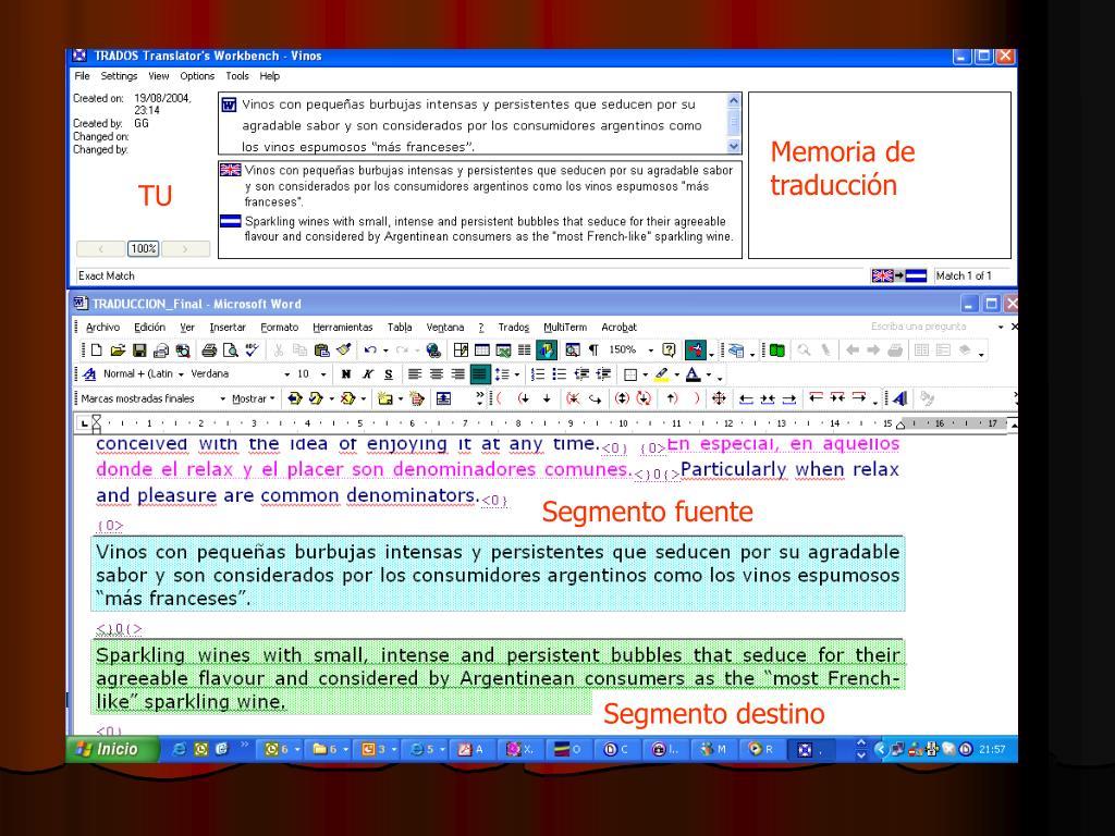 Memoria de traducción