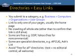 directories easy links