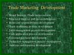 trade marketing development