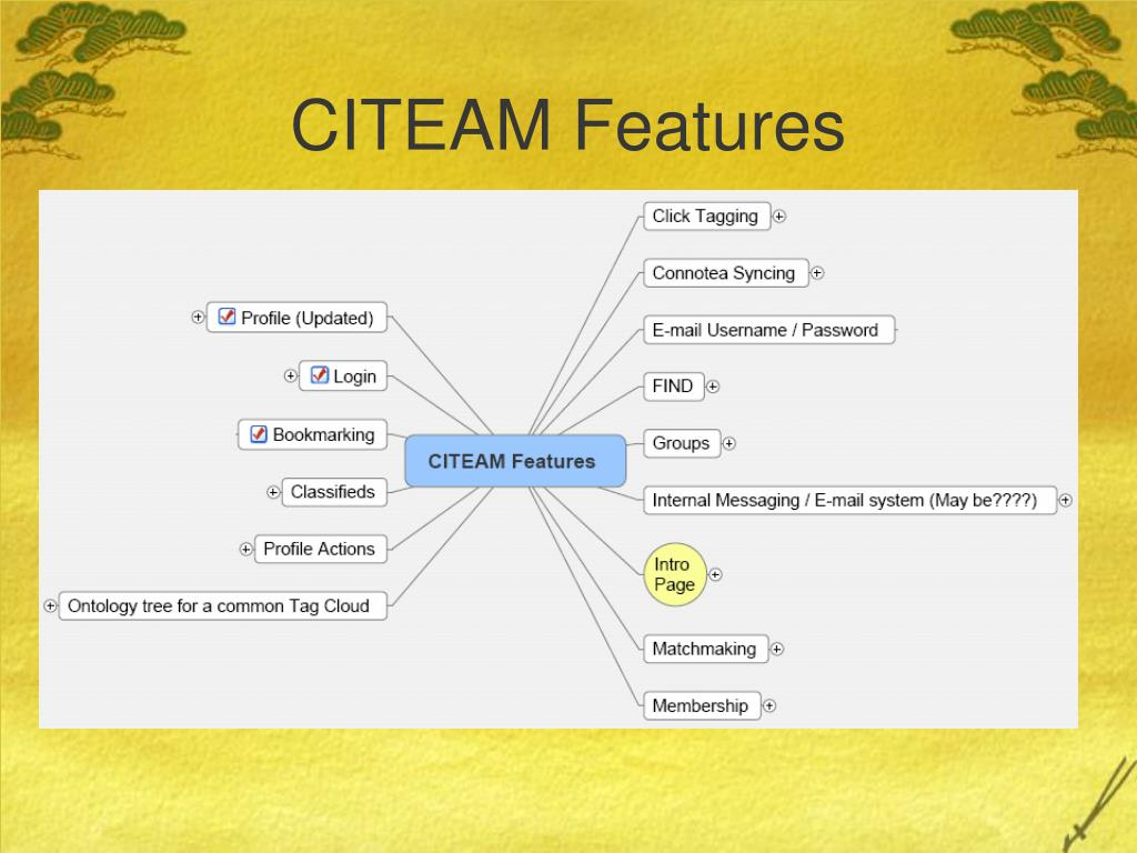 CITEAM Features