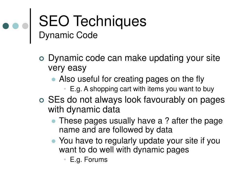 SEO Techniques
