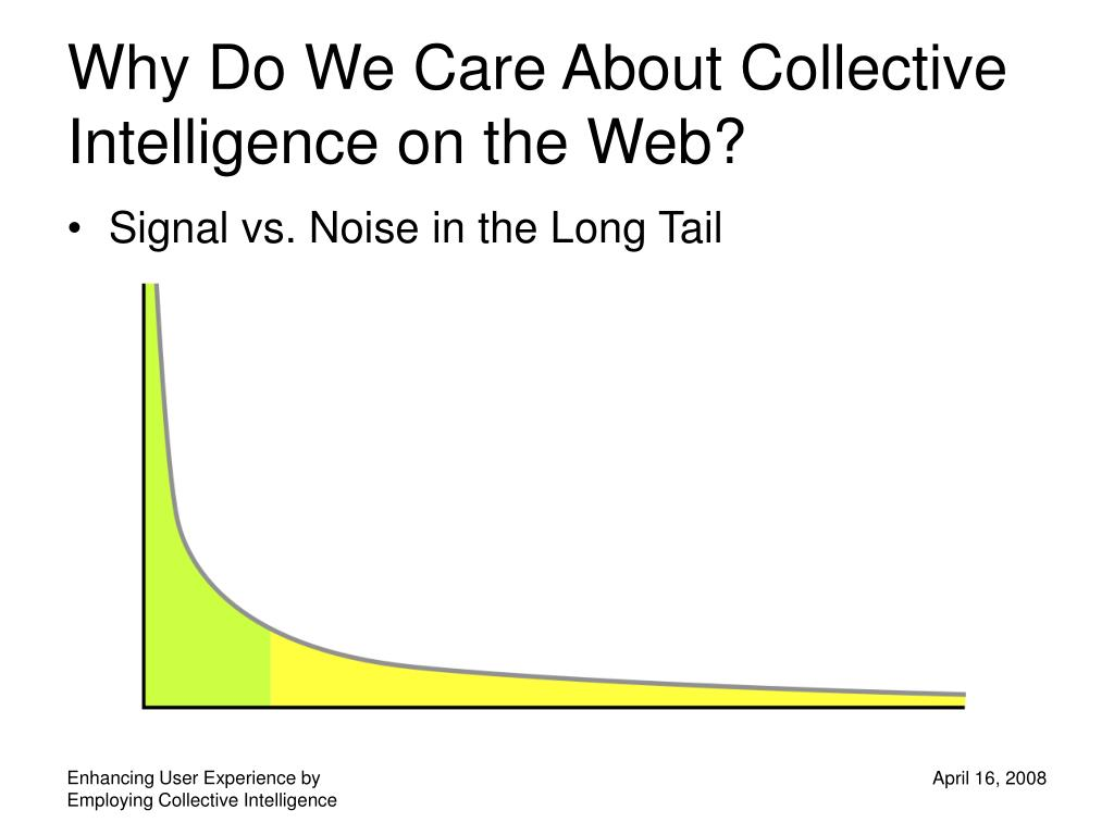 Why Do We Care About Collective Intelligence on the Web?