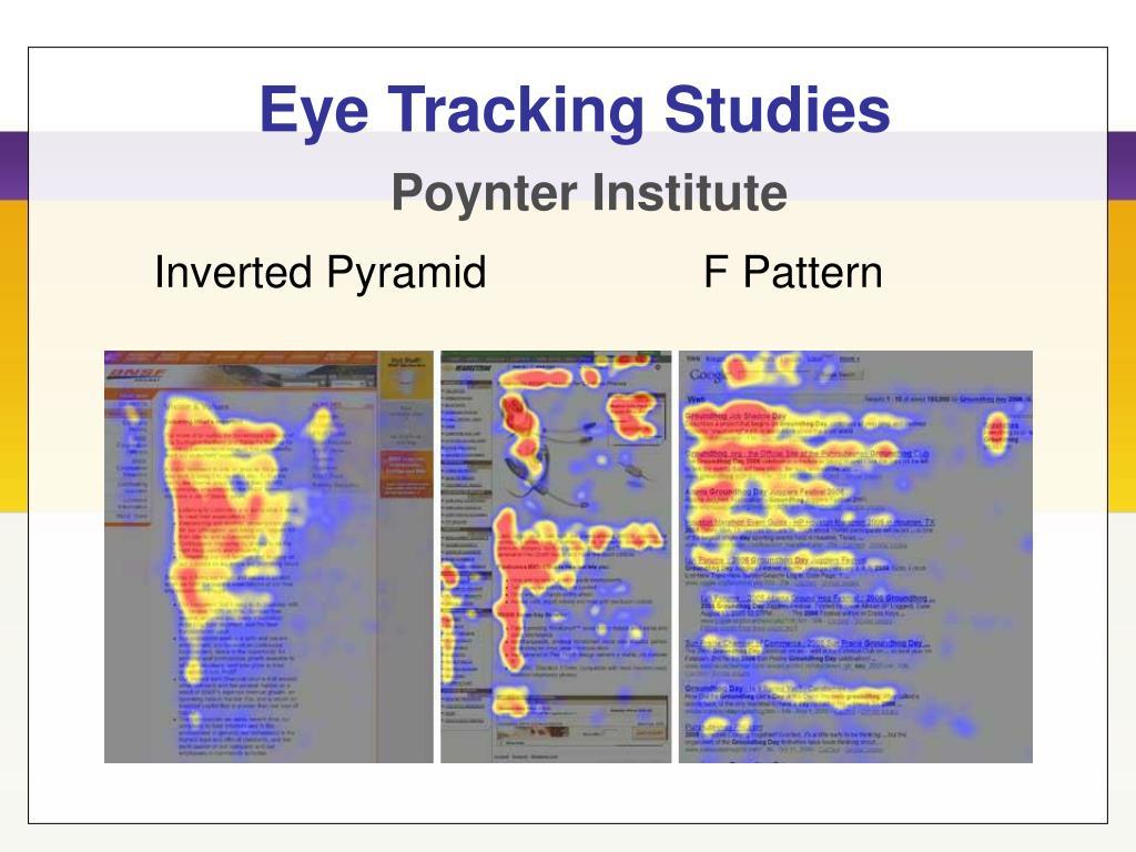 Eye Tracking Studies