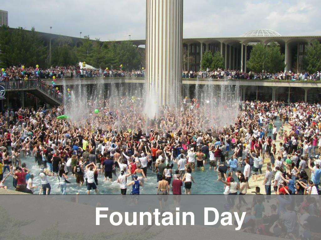 Fountain Day