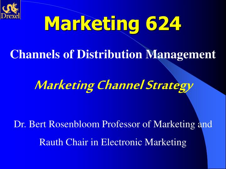 Marketing 624