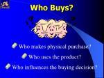 who buys