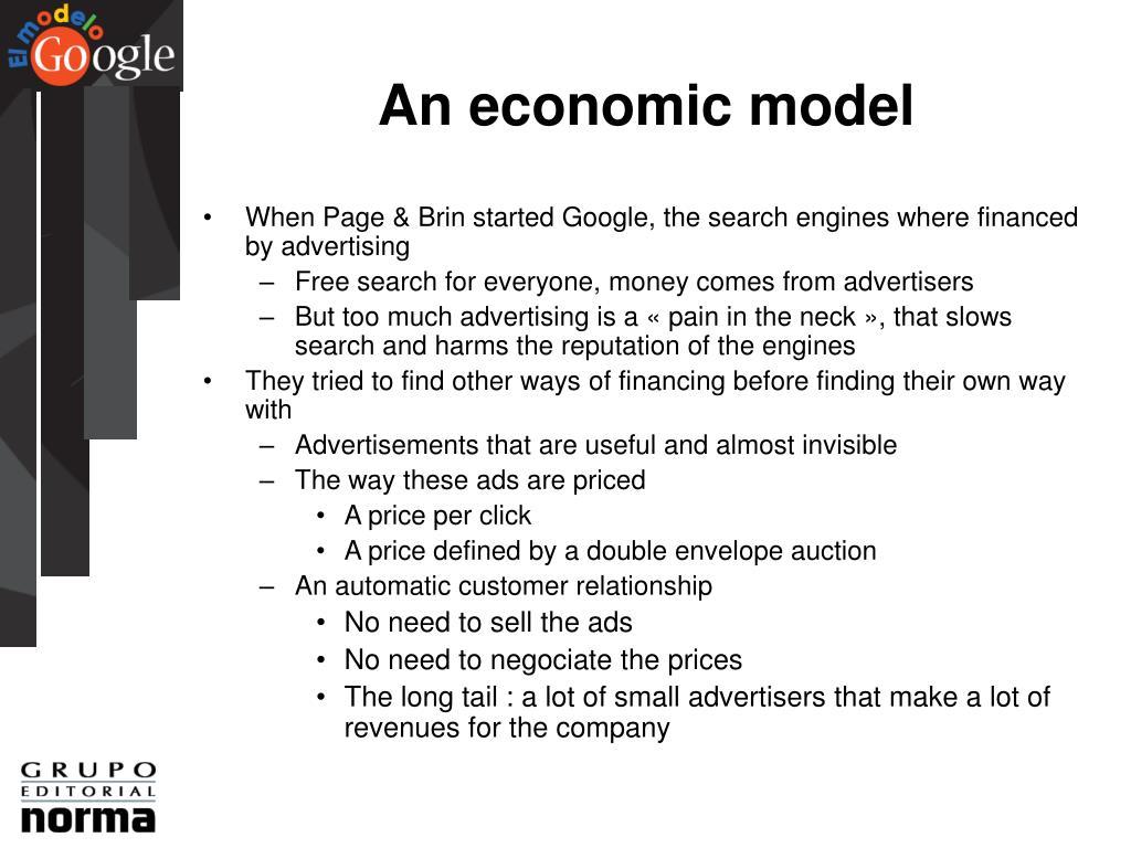 An economic model
