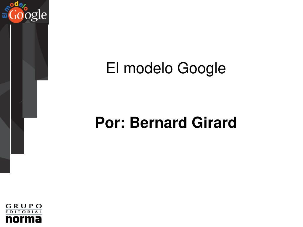 El modelo Google