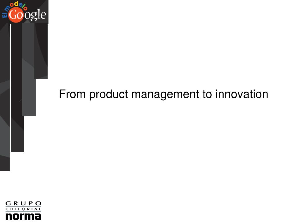 From product management to innovation