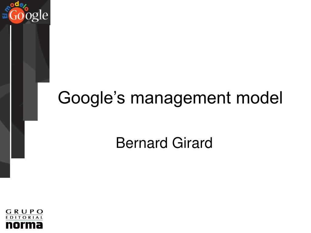 Google's management model