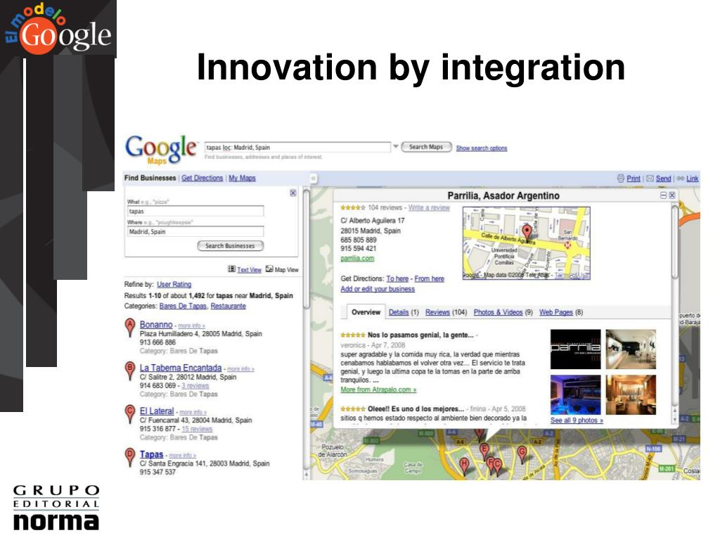 Innovation by integration