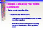 example 3 meeting your match continued