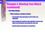 example 4 meeting your match continued41