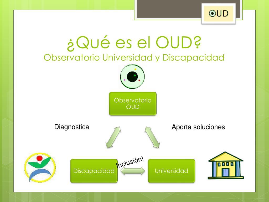 ¿Qué es el OUD?