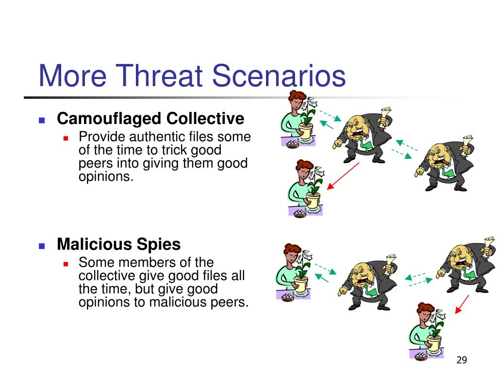 More Threat Scenarios