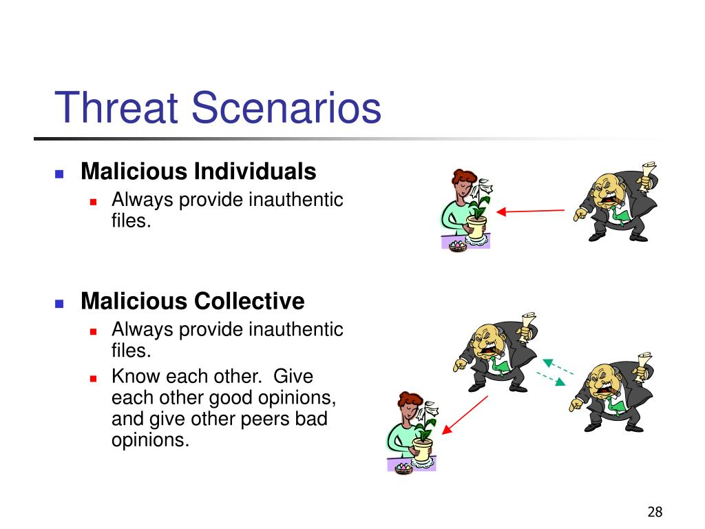 Threat Scenarios