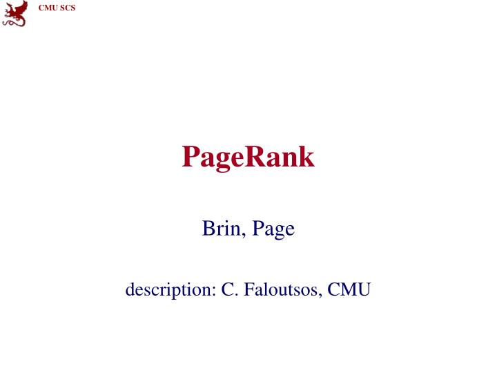 Pagerank