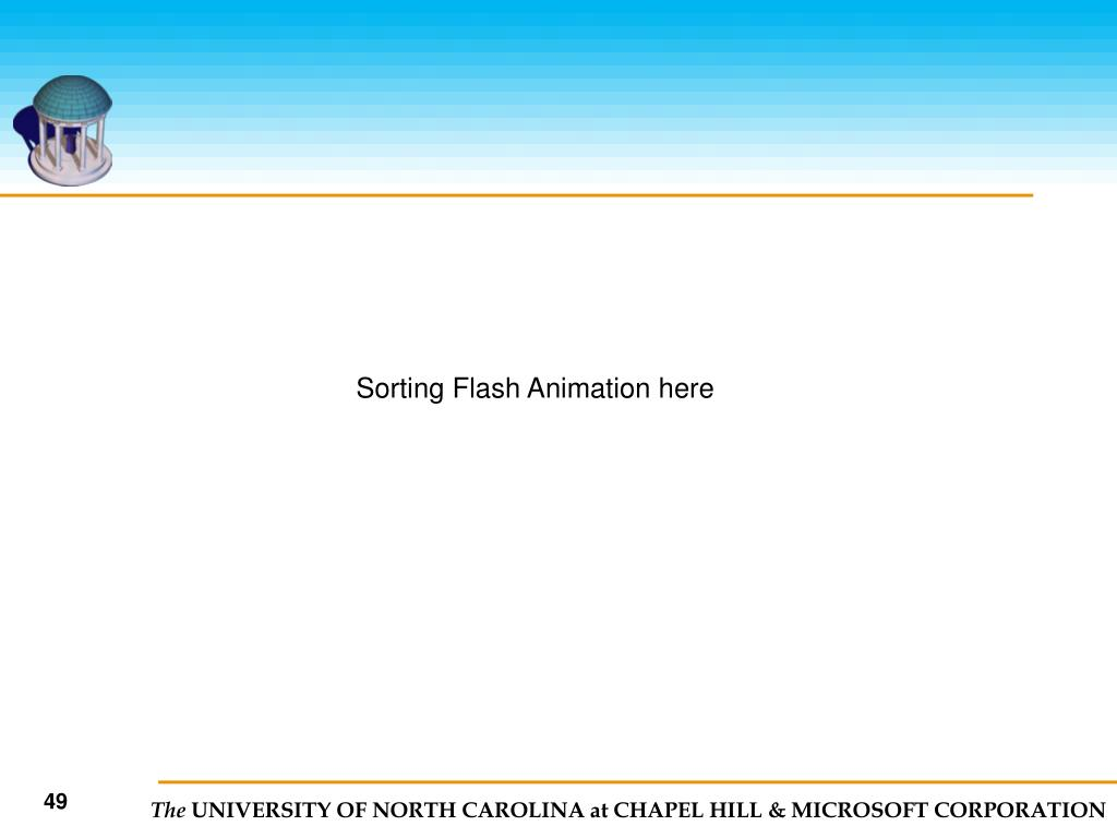 Sorting Flash Animation here
