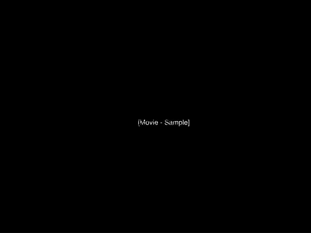 [Movie - Sample]