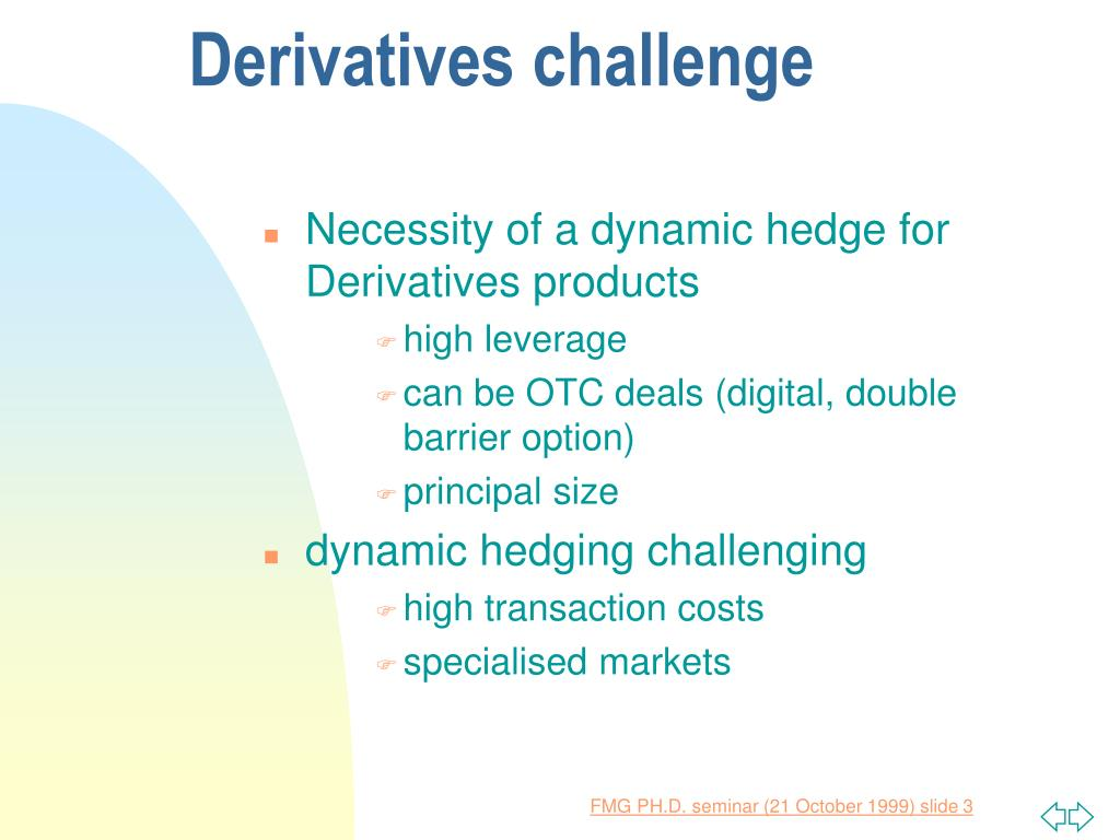 Dynamic hedging trading strategy