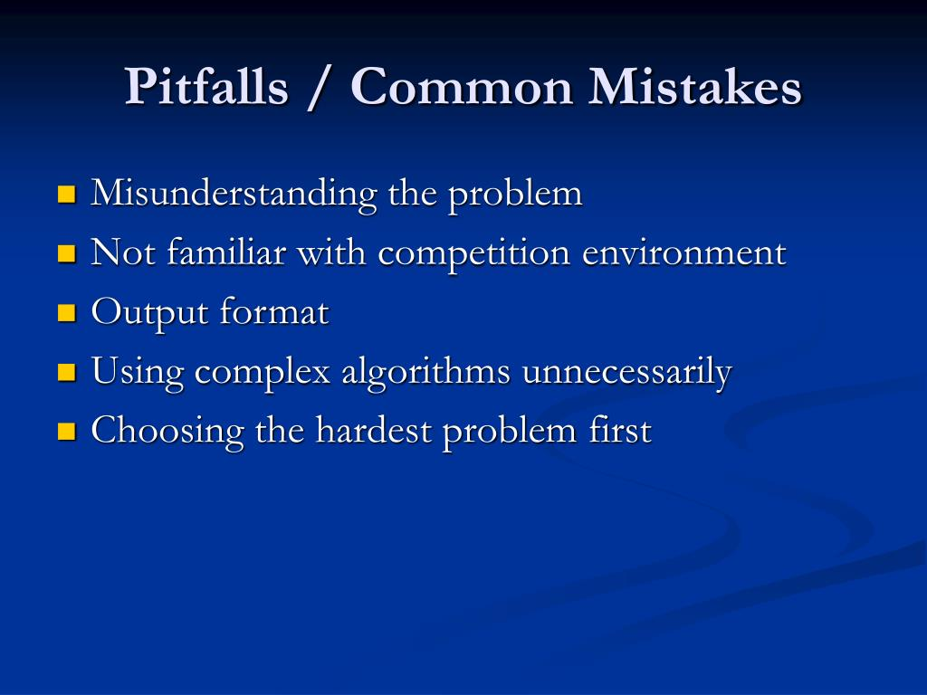 Pitfalls / Common Mistakes