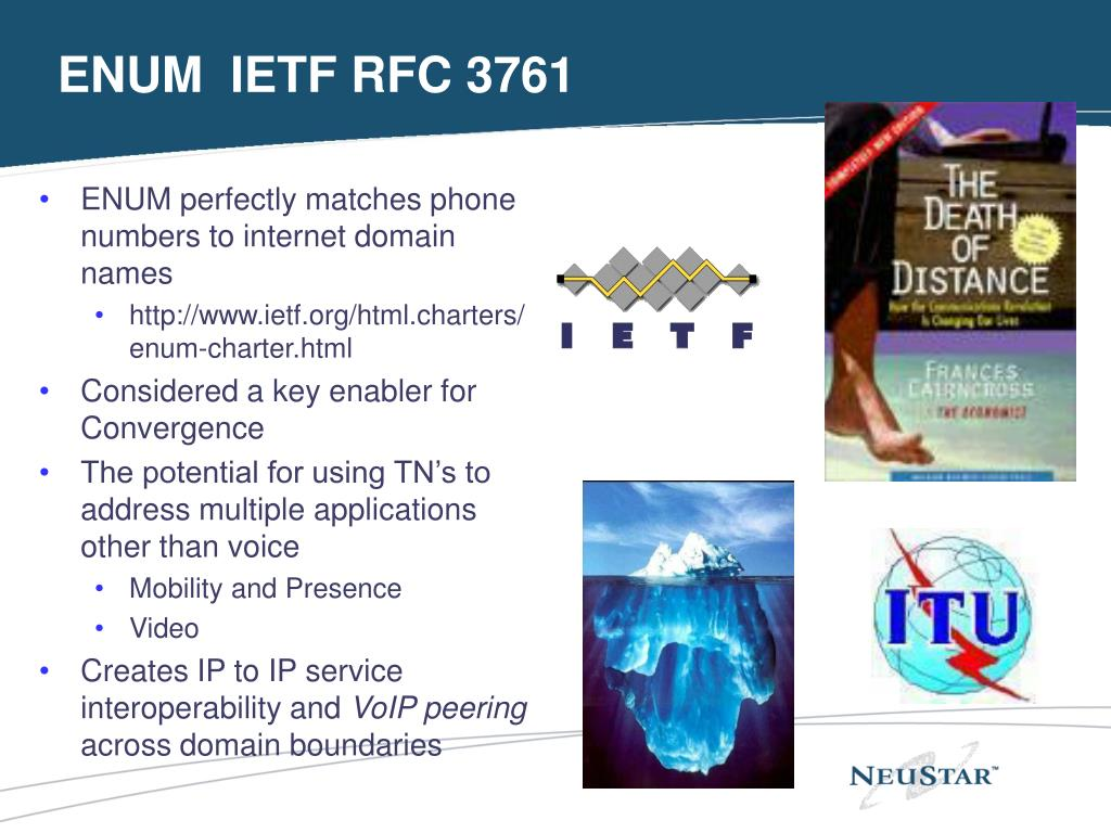 ENUM  IETF RFC 3761