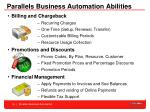 parallels business automation abilities10