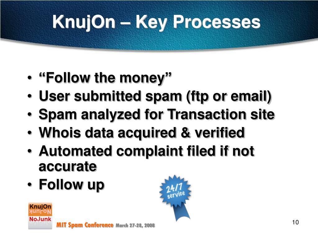 KnujOn – Key Processes