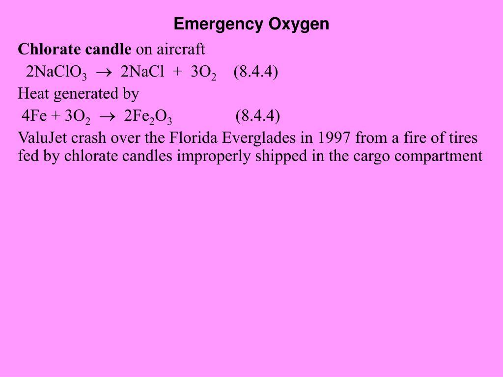 Emergency Oxygen