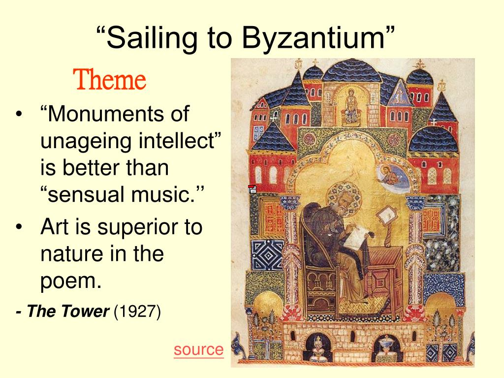 sailing to byzantium critical essays Wb yeats and postcolonialism: tensions, ambiguities, and uncertainties by  e & i- essays and introductions  on the contrary there is a great deal of critical.