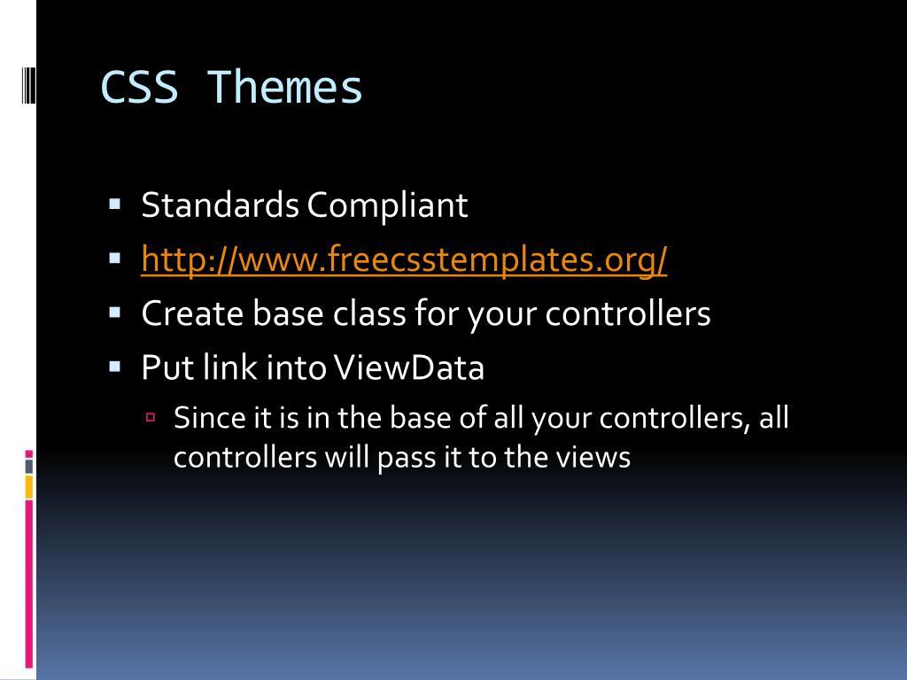 CSS Themes