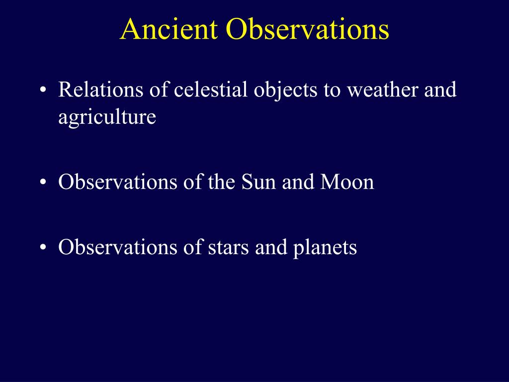Relations of celestial objects to weather and agriculture