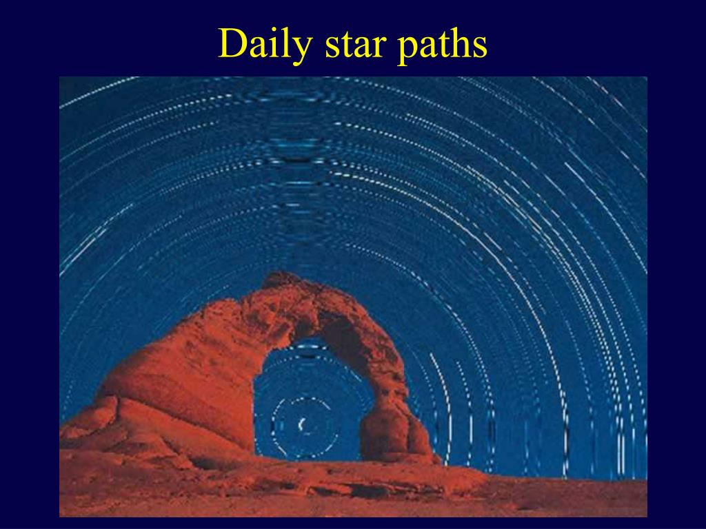 Daily star paths