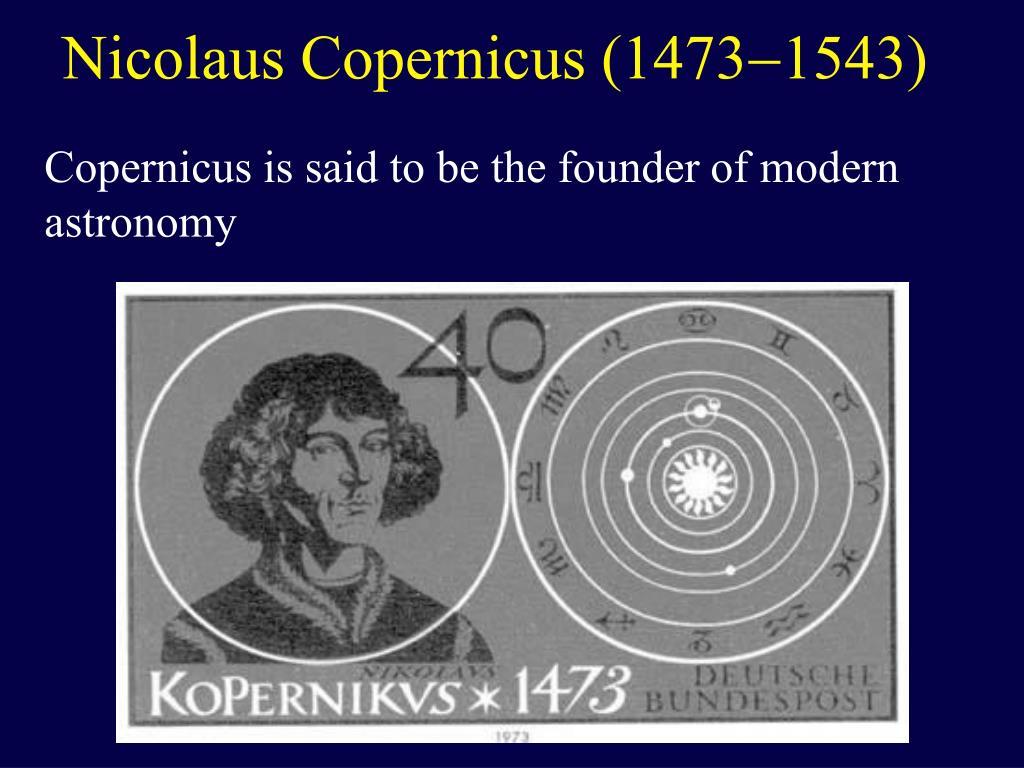 Nicolaus Copernicus (1473