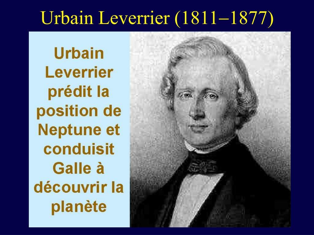 Urbain Leverrier (1811