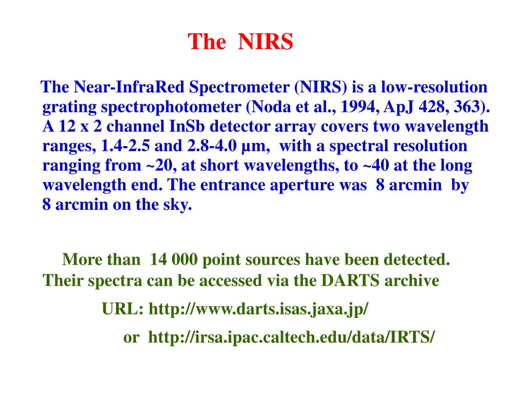The  NIRS