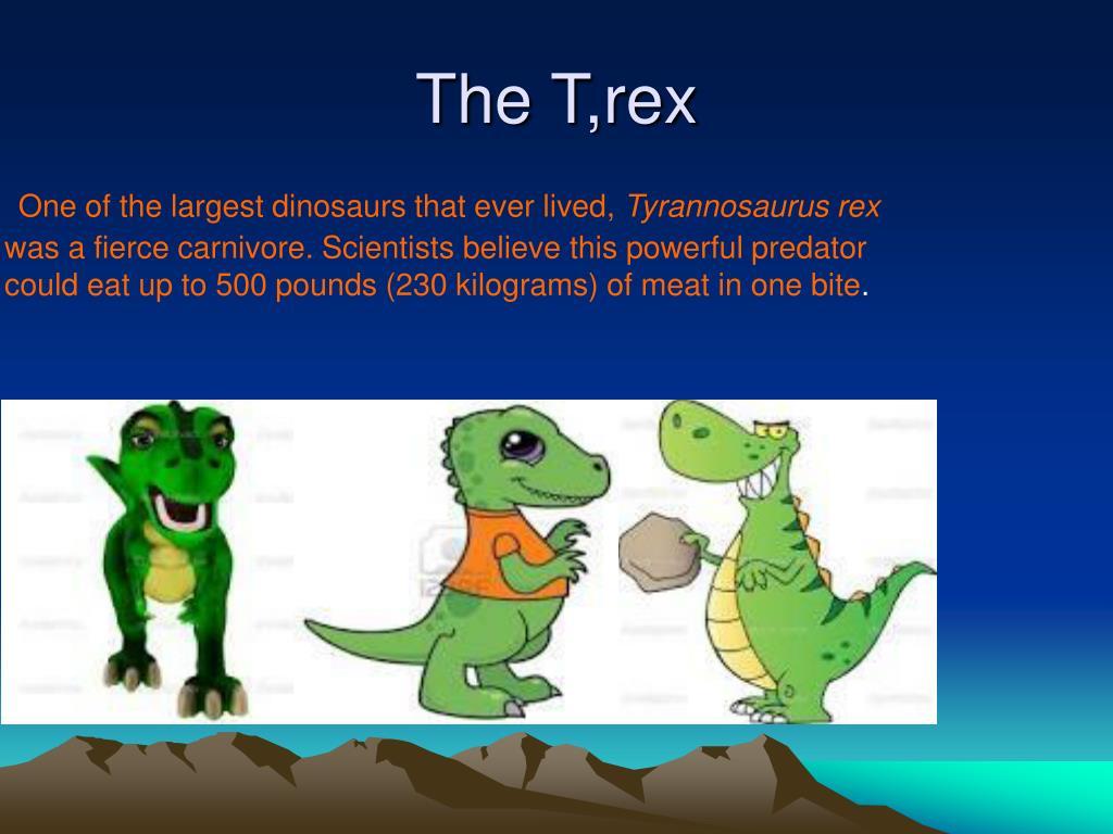 The T,rex