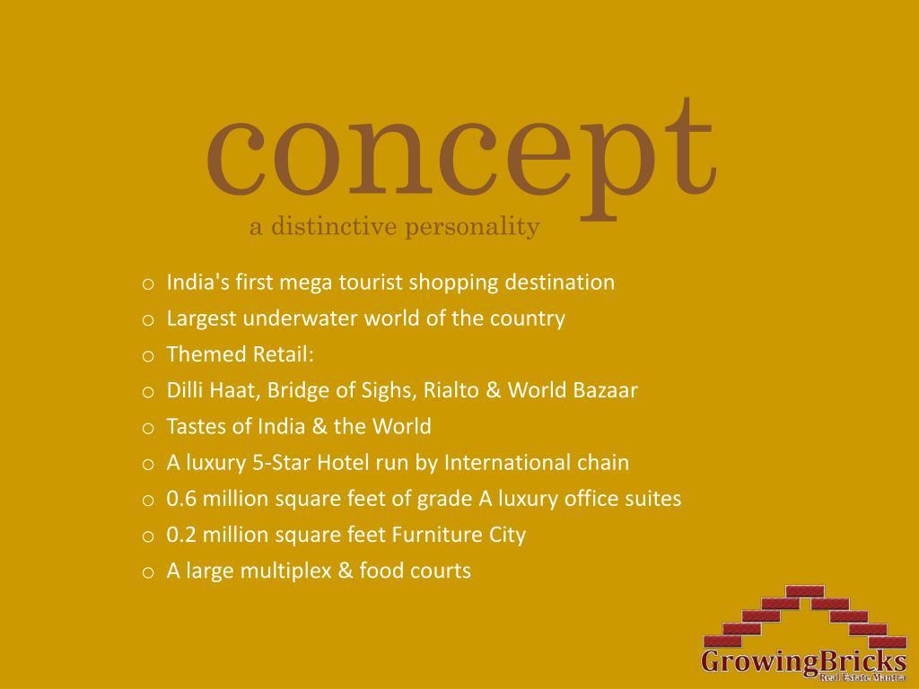 India's first mega tourist shopping destination