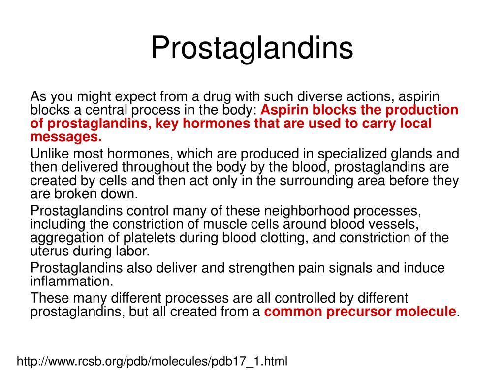 Prostaglandins