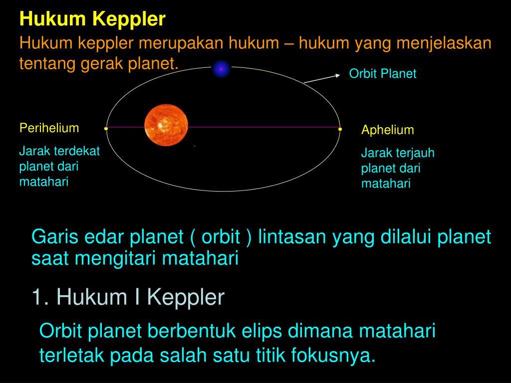 Hukum Keppler