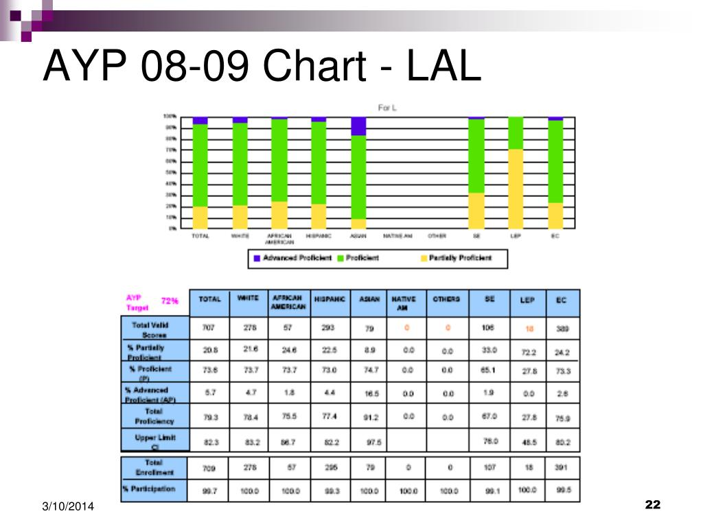 AYP 08-09 Chart - LAL