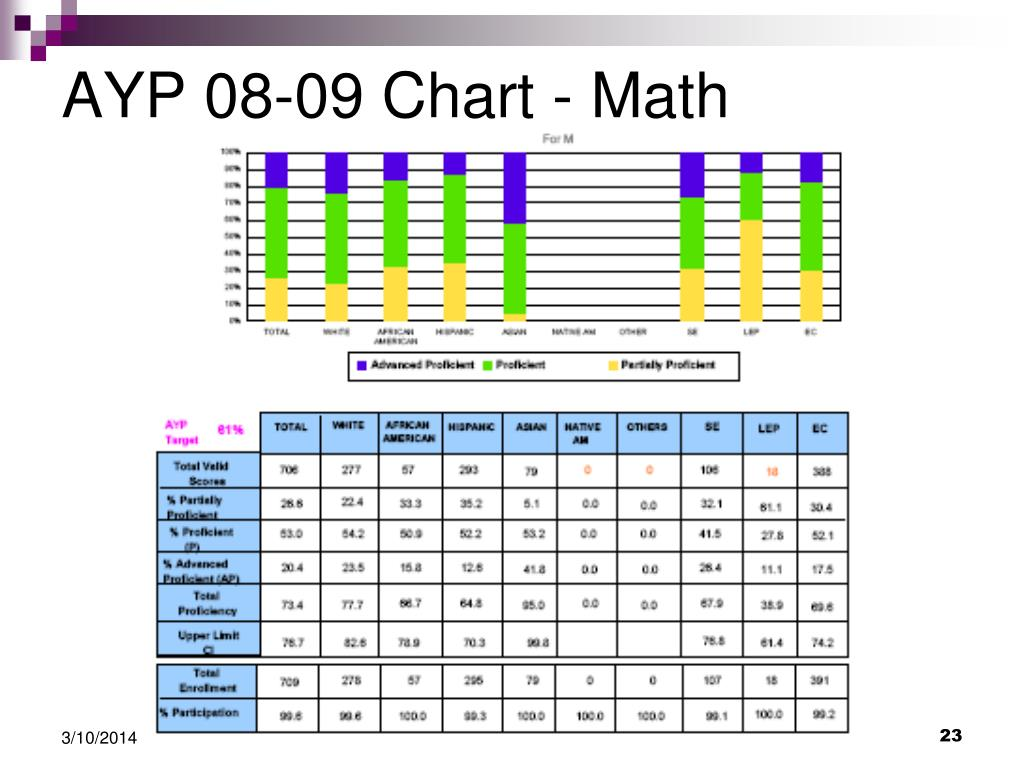AYP 08-09 Chart - Math