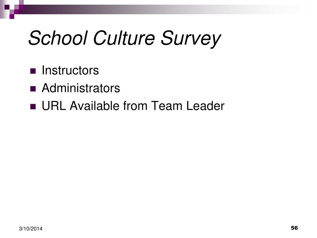 School Culture Survey