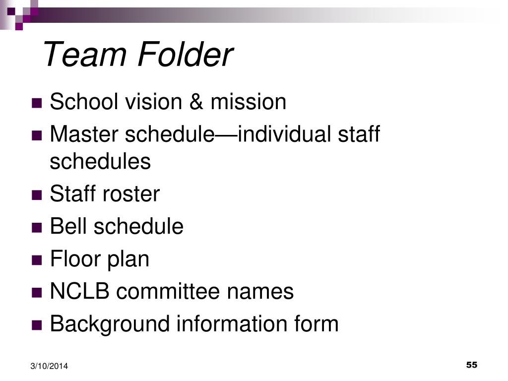 Team Folder