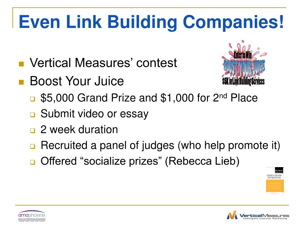 Even Link Building Companies!