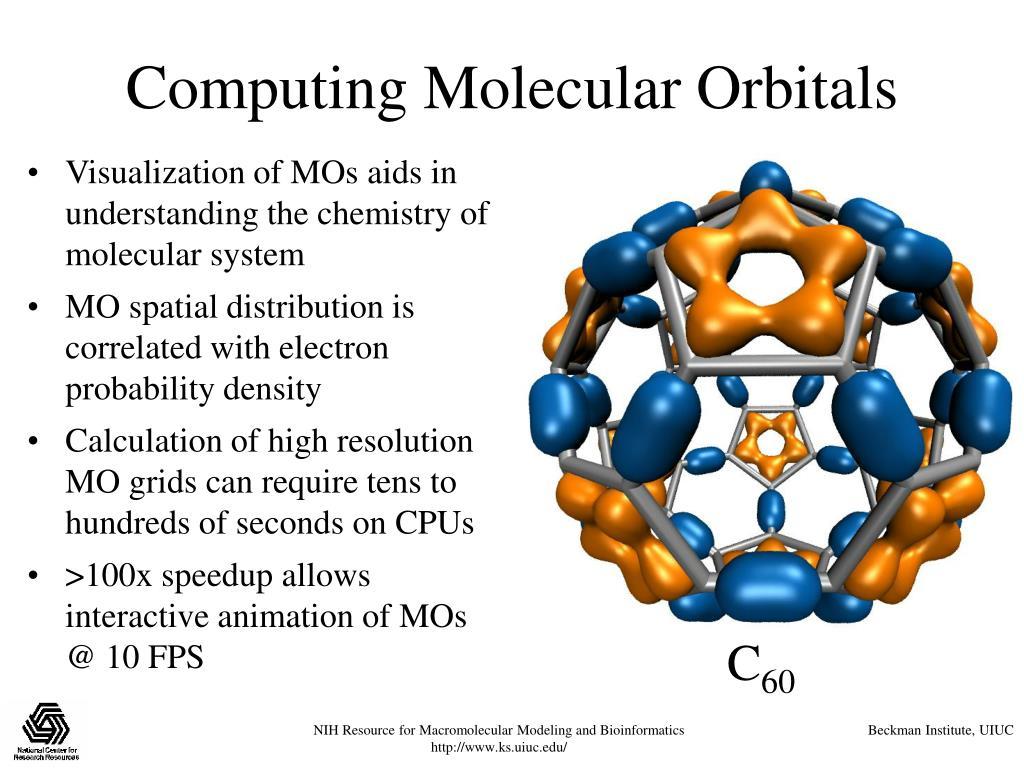 Computing Molecular Orbitals