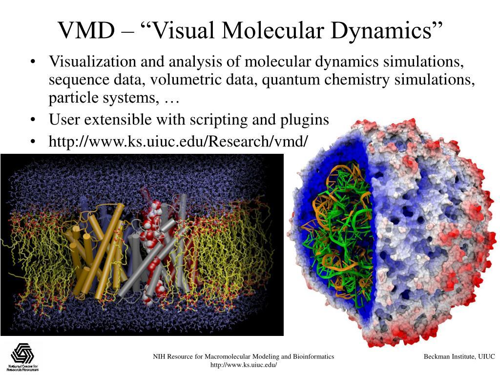 """VMD – """"Visual Molecular Dynamics"""""""